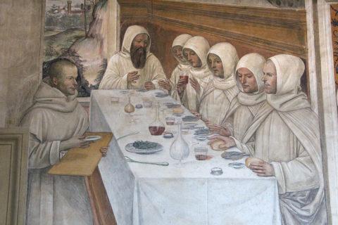 Il Sodoma (Giovanni Antonio Bazzi) - La vita di San Benedetto, Scene 31